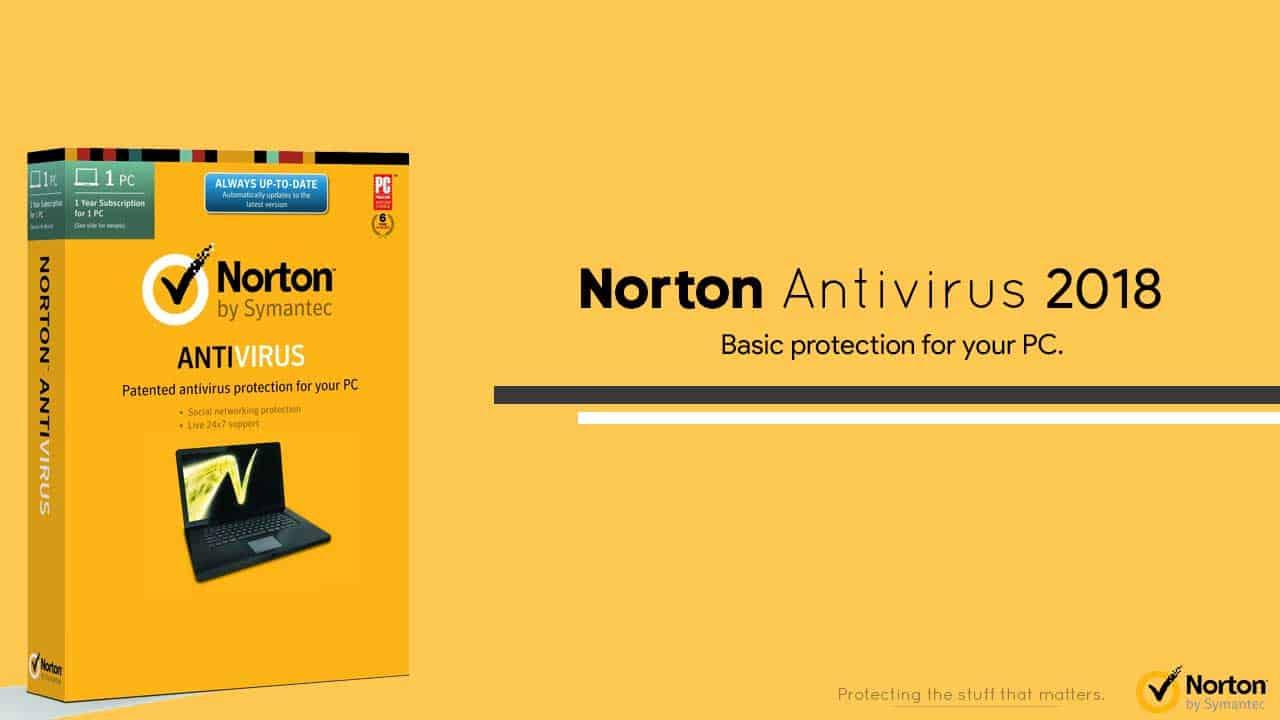 Norton Antivirus Review 2018